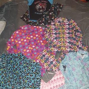 11pc. Girls 14/16 pajamas